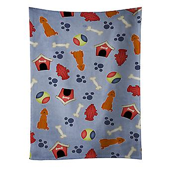 Carolines Treasures  BB2677KTWL Dog House Collection Irish Setter Kitchen Towel