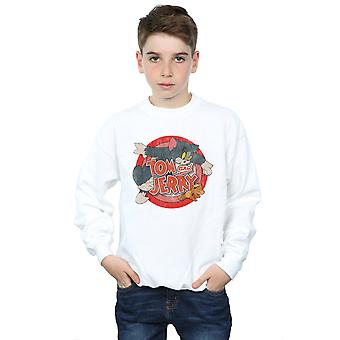 Tom And Jerry Boys Classic Catch Sweatshirt