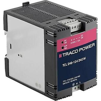 Rail mounted PSU (DIN) TracoPower TCL 240-124 24 Vdc 10 A 240 W 1 x