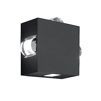 Evans Four Way mur LED Light - éclairage Elstead