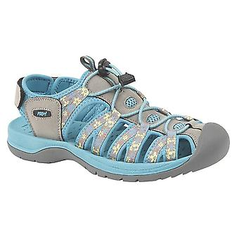 PDQ Womens/Ladies Superlight Floral Print Sports Sandals