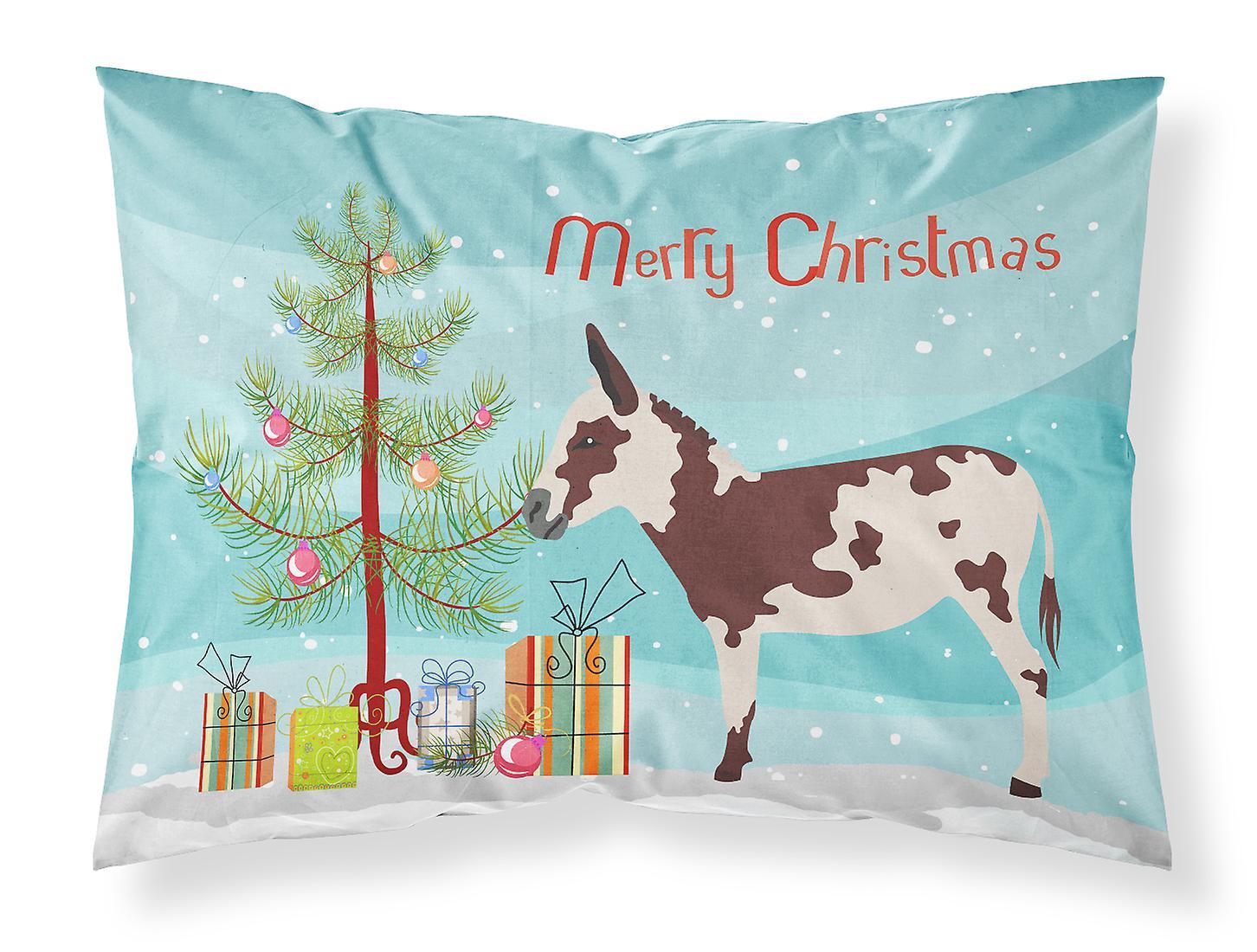 Taie Donkey Tissu Standard Noël D'oreiller De Américain Tacheté lFTcK1J