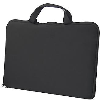 TRIXES 15.6 时尚黑色笔记本电脑套筒套盖,适用于戴尔索尼 惠普