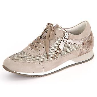 Gabor York Argento KO Glamour HT Samt 6634514 universele vrouwen schoenen