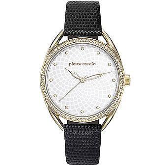Pierre Cardin ladies watch Drouot nero/oro/argento