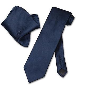 Vesuvio Napoli PAISLEY Krawatte & Taschentuch passenden Hals Krawatte Set
