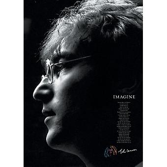 John Lennon - Imagine Poster Print (24 X 36)