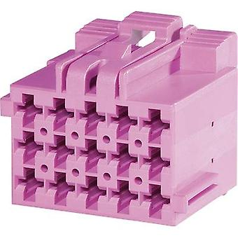 Socket enclosure - cable J-P-T Total number of pins 18 TE Connectivity 1-967624-1 Contact spacing: 5 mm 1 pc(s)