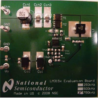 PCB design board Texas Instruments LM3150-750EVAL
