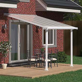 Palram Olympia Patio Cover White Clear