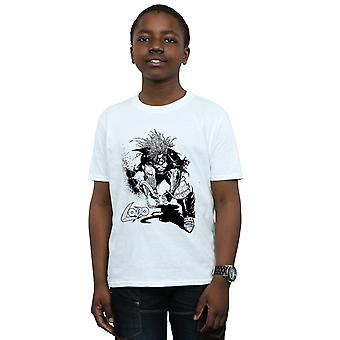DC Comics Boys Lobo Sketch T-Shirt