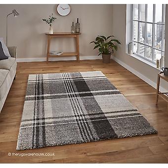 Telaxo Beige zwart tapijt