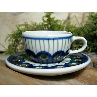 Tasse avec soucoupe, miniature, tradition 10 Bunzlauer poterie - 6928 BSN