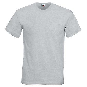 Fruit of the Loom High V-Neck Valueweight Cotton T Shirt