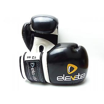 Elevate  Airtec Boxing Gloves - Black White
