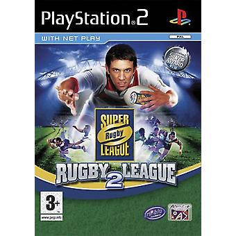 Super League Rugby 2 (PS2) - Factory Sealed