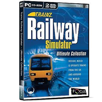 Trainz järnvägen Simulator Ultimate Collection (PC CD)