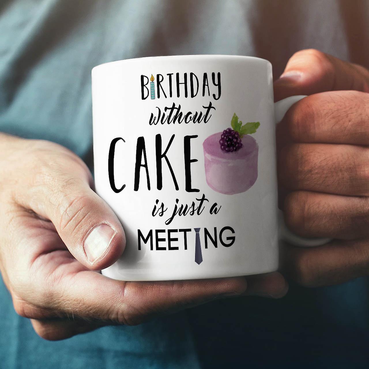 Lustige Neue Weisser Tee Party Kuchen Kaffee Keramik Becher 11 Oz