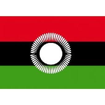 Gamle Malawis flagg 5 ft x 3 ft med hull For hengende