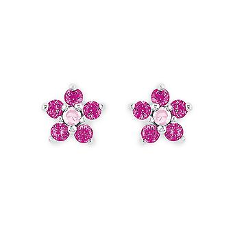 Princess Lillifee children earrings Flower Pink / pink 2021171