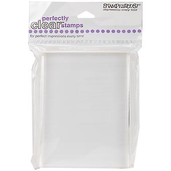 Stampendous Perfectly Clear Stamp Block-4