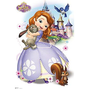 Sofia The First Poster Poster Print