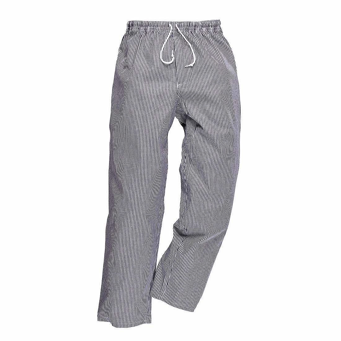 sUw - Mens Bromley Cotton Easy Fit Chefs Trousers