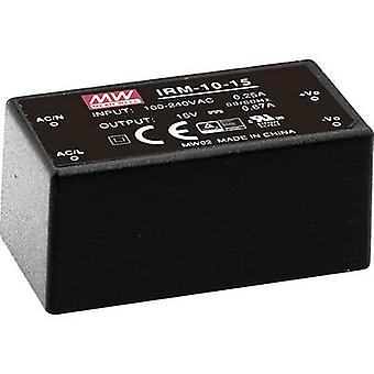 Mean Well IRM-10-5 AC/DC PSU (print) 5 Vdc 2 A 10 W