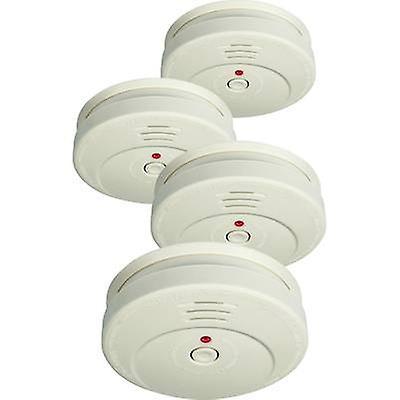 Smartwares RM149/4 Smoke detector 4-piece set battery-powered