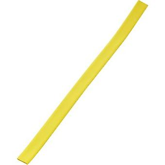 Heatshrink w/o adhesive Yellow 12 mm Shrinkage:3:1 393740 Sold by the metre