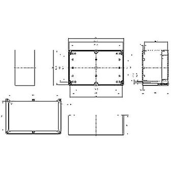 Spelsberg TG PC 2516-12-to Build-in casing 252 x 162 x 120 Polycarbonate (PC) Grey-white (RAL 7035) 1 pc(s)