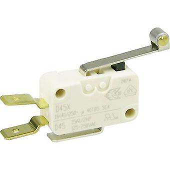 Cherry Switches Microswitch D459-V3RD 250 V AC 16 A 1 x On/(On) momentary 1 pc(s)