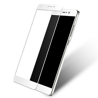 Xiaomi MI mix 2 3D armoured glass foil display 9 H protective film covers case white