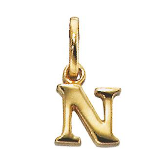 Trailers N 333/g pendant gold N letter pendant N gold