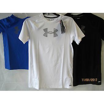Under Armour Jungen T-Shirt HeatGear® Fitted kurzärmlig