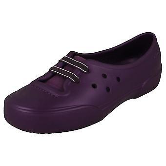 Dames Crocs Slip op Flats Nahani