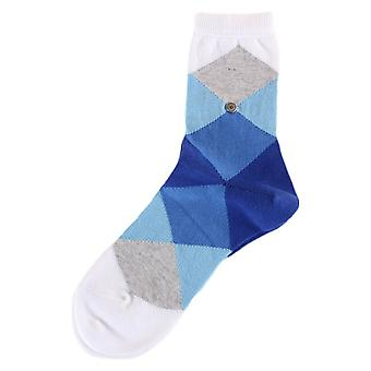 Burlington, chaussettes Bonnie - Light Blue/Dark Blue/White