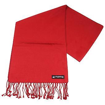 Knightsbridge Neckwear Plain Scarf - Red