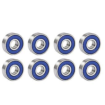 TRIXES 8 Frictionless Abec 9 Skateboard Roller Skate Bearings