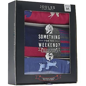Joule Mens något för helgen Socks Boxer Shorts Set