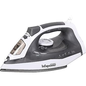 Infapower X602 Non Drip Premium Steam 2400W Iron Made With Quality ABS Material