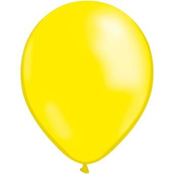 Ballons jaunes 10pcs