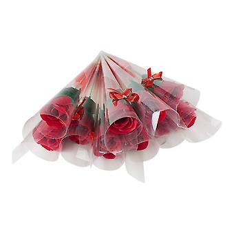Rosas perfumada-vermelha