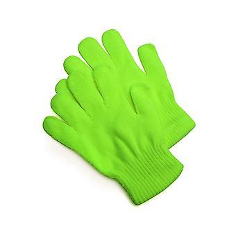 Handschoenen gebreide handschoenen groen