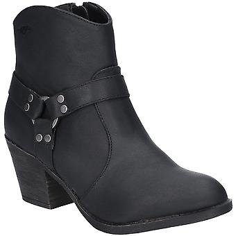Rocket Dog Womens Stellan Zip Up Chunky Heel Ankle Boots