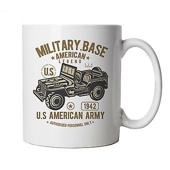 Amerikaanse leger Jeep, mok