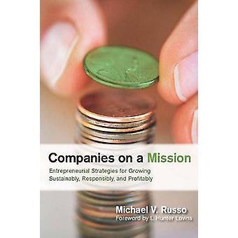 Empresas en una misión - estrategias empresariales para el crecimiento de sector