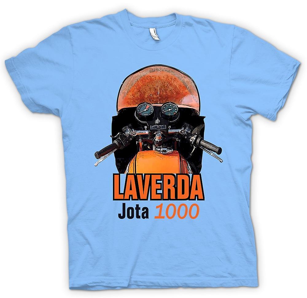 Mens t-shirt-moto d'epoca Laverda Jota 1000