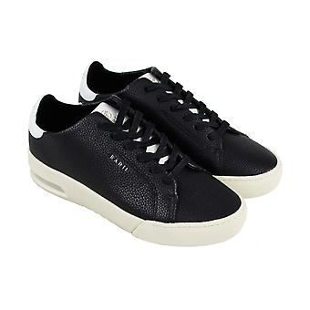 Radii Square FM1100 Mens Black Casual Lace Up Low Top Sneakers Shoes