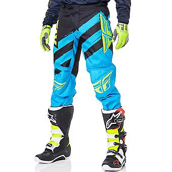 Fly Racing Blue-Black 2018 F-16 MX Pant